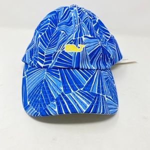 Vineyard Vines Abstract Leaf Print Baseball Hat
